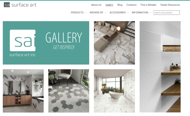 Gallery on New Website resized