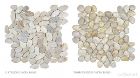 Ivory Blend Flat and Tumbled